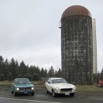 "40 year old cars, and probably a 40 year old ""preservation class"" silo"