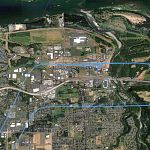 Troutdale departure and arrival patterns